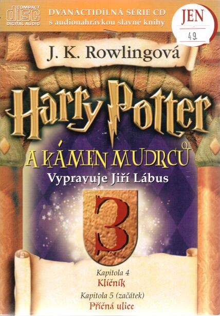 Harry Potter a Kámen mudrců 3. - CD