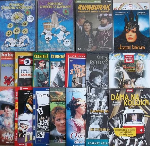 Kolekce Jiřina Bohdalová - 18DVD+CD