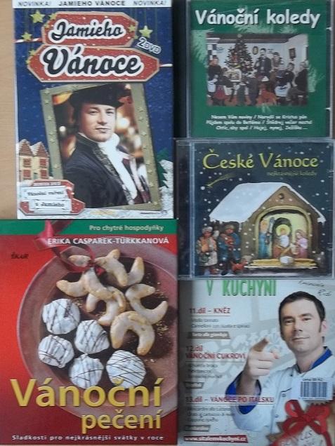 Kolekce Vánočního pečení a vaření - 2 DVD + kniha + 2CD