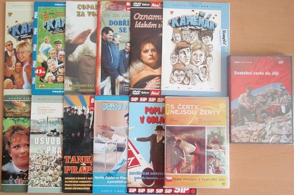 Kolekce Václav Vydra - 13 DVD