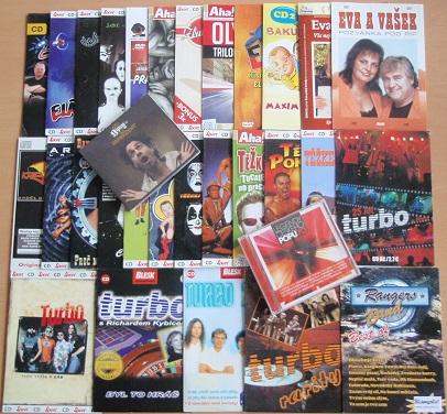Velká kolekce českých kapel - 31 CD