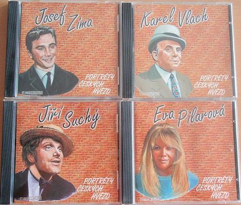 Kolekce portéty českých hvězd - 4 CD