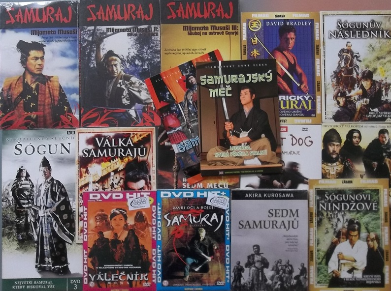 Kolekce Samurajská - 16 DVD
