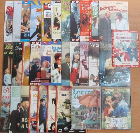 Velký mix českých filmů - 32 DVD