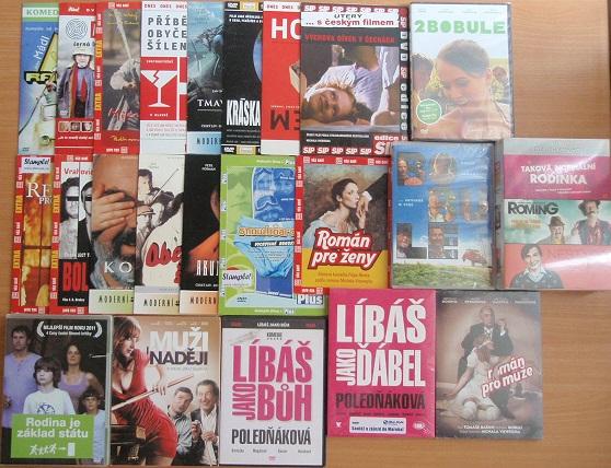 Velká kolekce českých filmů - 25 DVD