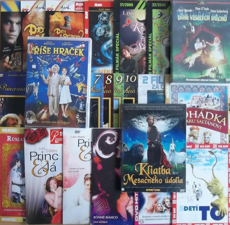 Velká kolekce zahraniční pohádka 24DVD