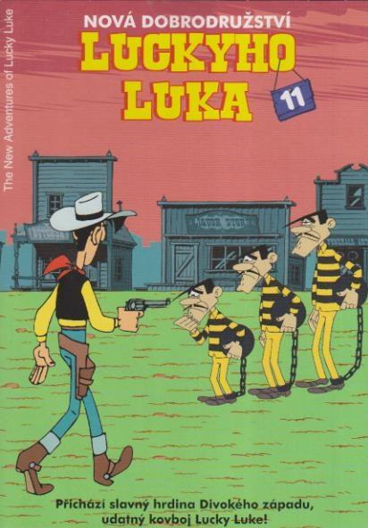 Nová dobrodružství Luckyho Luka 11 DVD