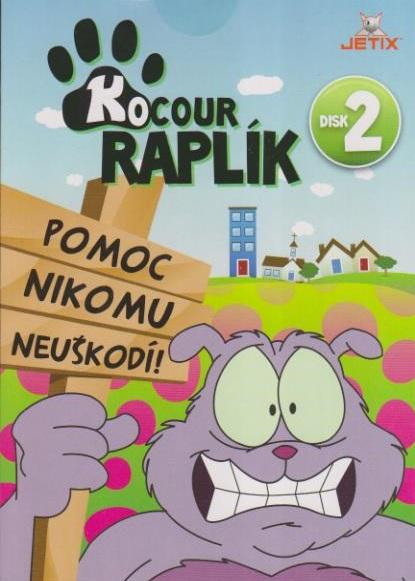 Kocour Raplík 02 - DVD