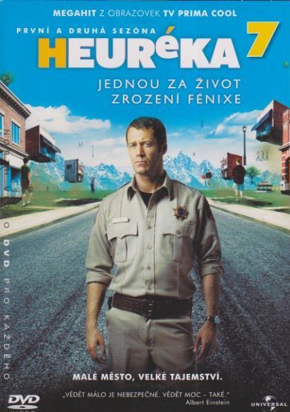 Heuréka 7,první a druhá sezóna - DVD