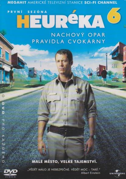 Heuréka 6, první sezóna - DVD