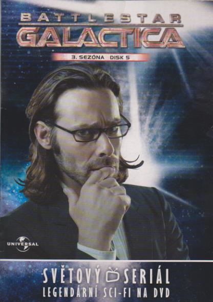 Battlestar Galactica - disk 22 - 3.sezóna,epizody 9-10 - DVD