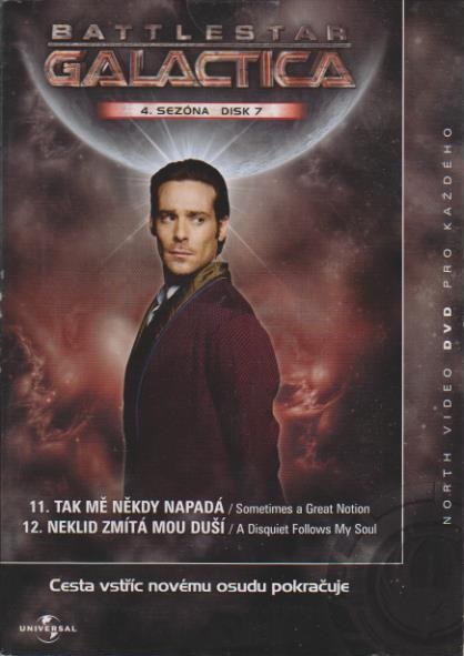 Battlestar Galactica - disk 34 - 4. sezóna, epizody 11-12 - DVD