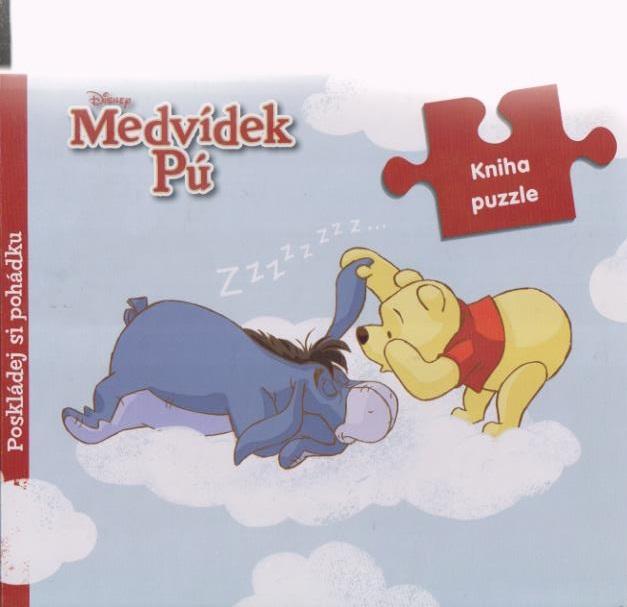 Medvídek Pú - kniha puzzle