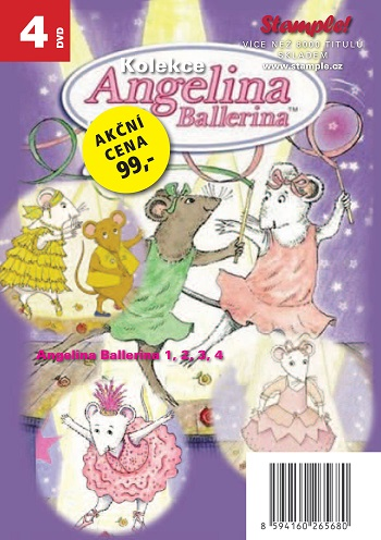 Kolekce Angelina Ballerina - DVD