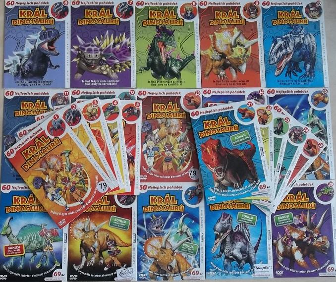 Velká kolekce Král Dinosaurů 25DVD