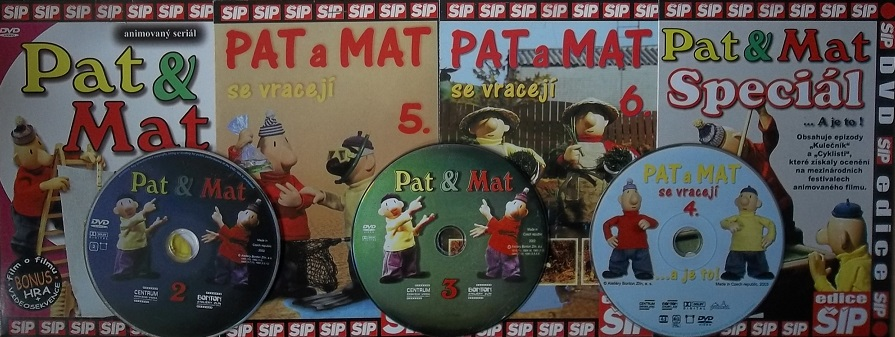 Kolekce Pat a Mat 7DVD