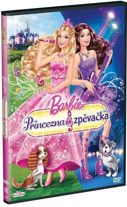 Barbie Princezna & zpěvačka - DVD