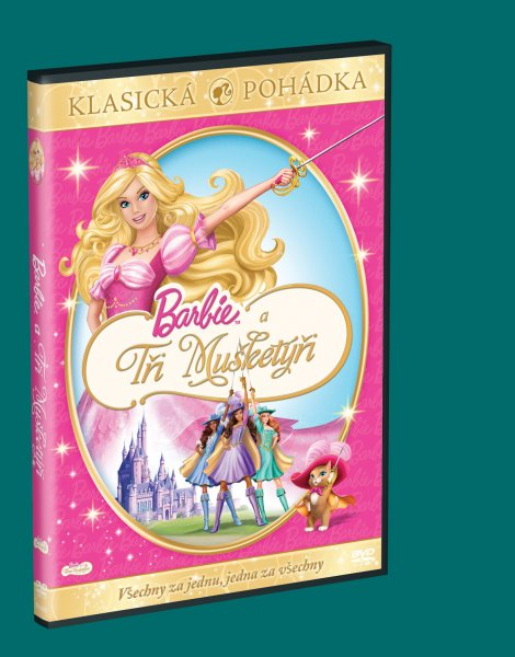 Barbie a tři mušketýři - DVD (Barbie and the Three Musketeers)