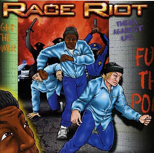 CD - Různí: Race Riot