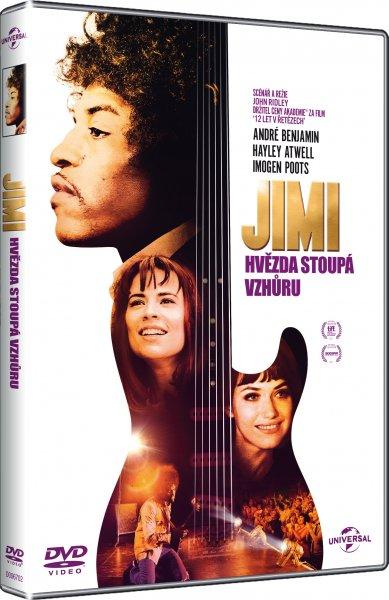 JIMI Hvězda stoupá vzhůru - DVD plast