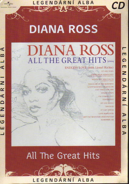 CD - Diana Ross: All The Great Hits