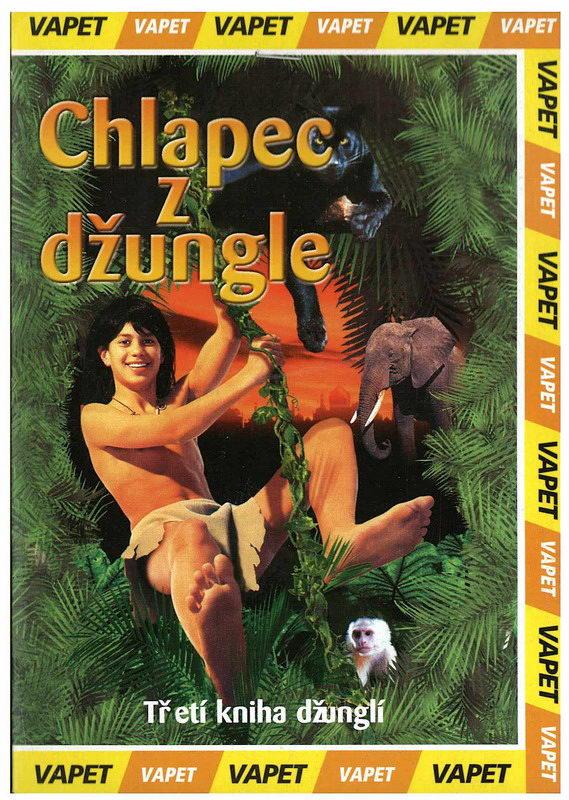 Chlapec z džungle - DVD