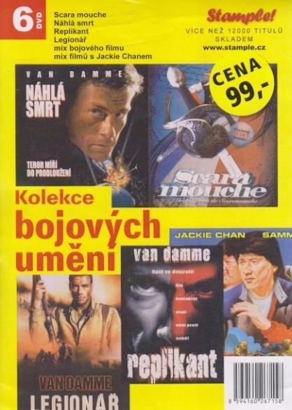 Kolekce bojových umění - DVD