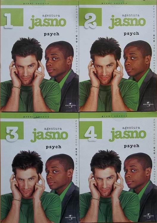 Kolekce Agentura Jasno 4DVD