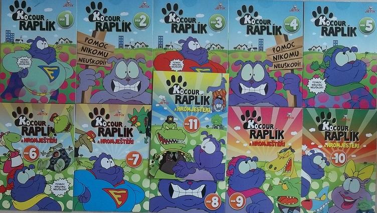 Kolekce Kocour Raplík 12DVD