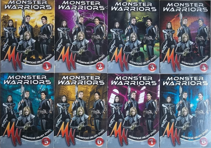 Kolekce Monster Warriors 8DVD