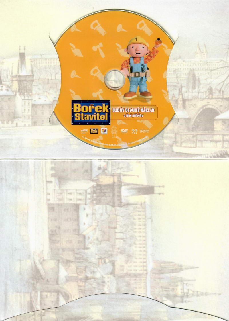 Bořek stavitel 6 - DVD Luďův dlouhý náklad a jiné příběhy - Dárkové balení