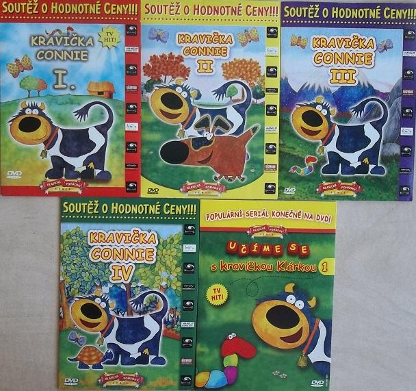 Kolekce Kravička Connie 5DVD