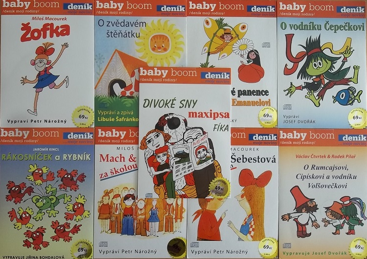 Kolekce mluvených pohádek 9CD
