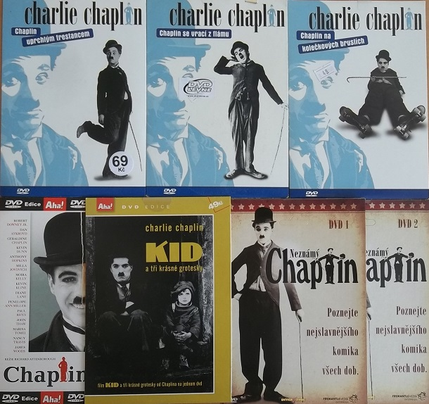 Kolekce Charlie Chaplin 7DVD