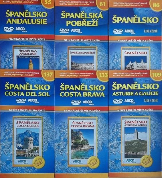 Kolekce Španělsko 6DVD + DÁREK
