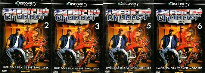 Kolekce Americký Chopper 4 DVD ( nekompletní )