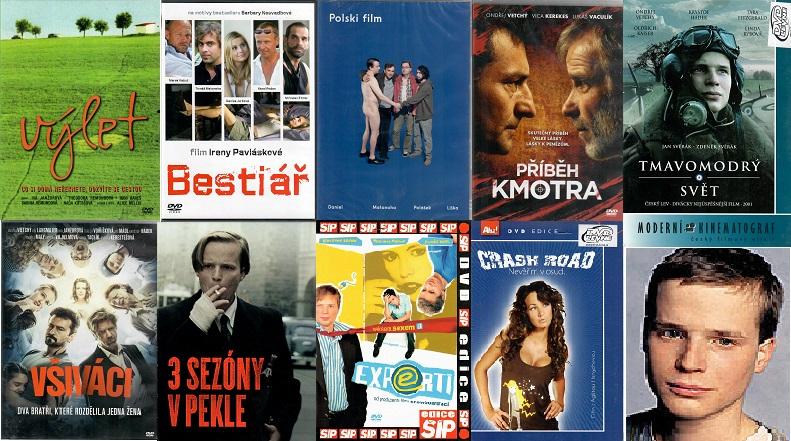 Kolekce Kryštof Hádek  9x DVD