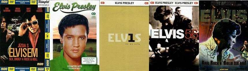 Kolekce Elvis Presley 2DVD + 3CD