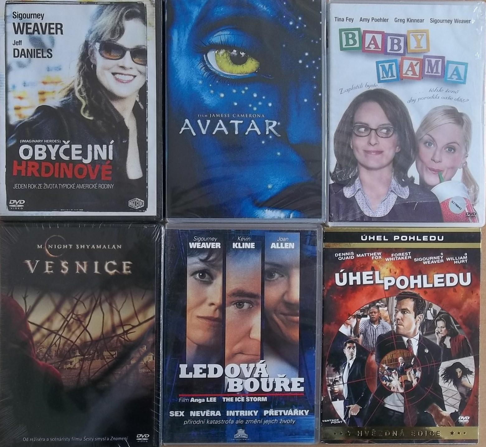 Kolekce Sigourney Weaver 6DVD