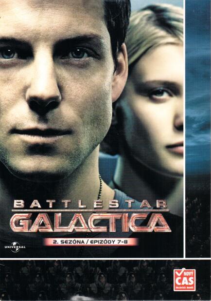 Battlestar Galactica - disk 11 - 2. sezóna, epizody 7-8 - DVD