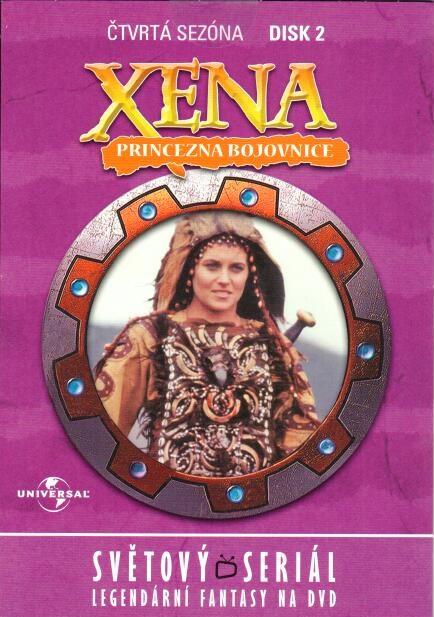 Xena disk 2 - 4. sezóna - DVD