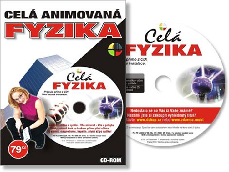 Celá Animovaná Fyzika ZŠ a SŠ - CD