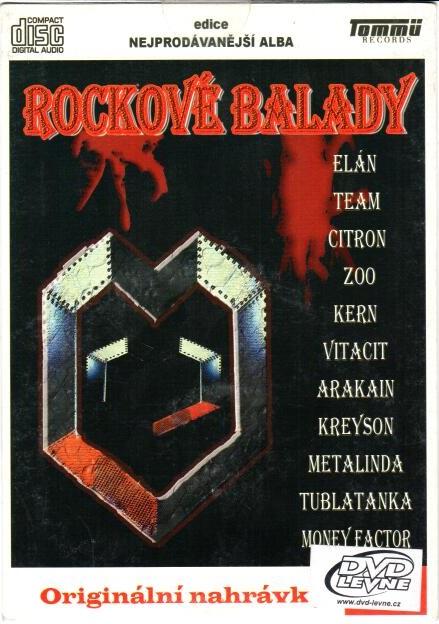 Rockové balady - CD