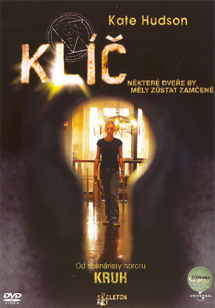 Klíč - DVD plast
