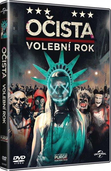 Očista: Volební rok - DVD plast