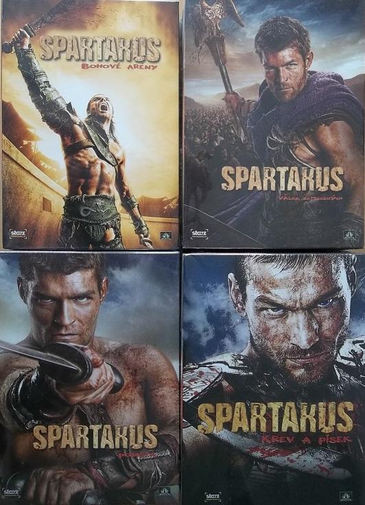 Kolekce Spartakus 16DVD