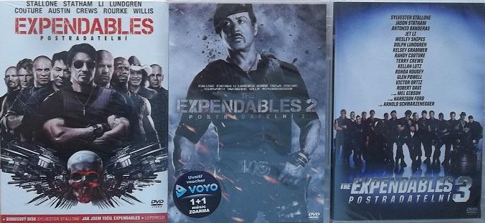 Kolekce postradatelní/ The Expendables 3 DVD