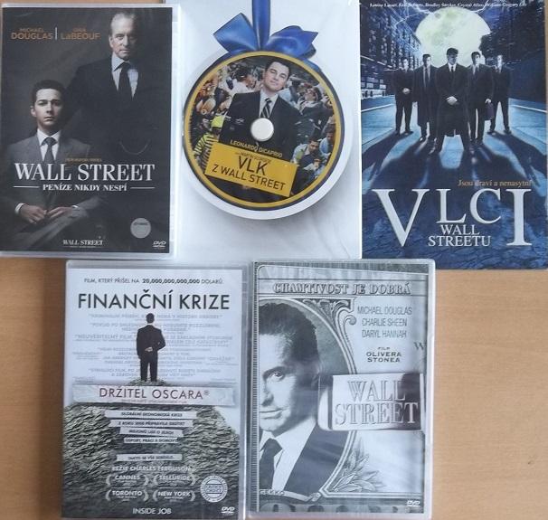 Kolekce Wall Street 5DVD