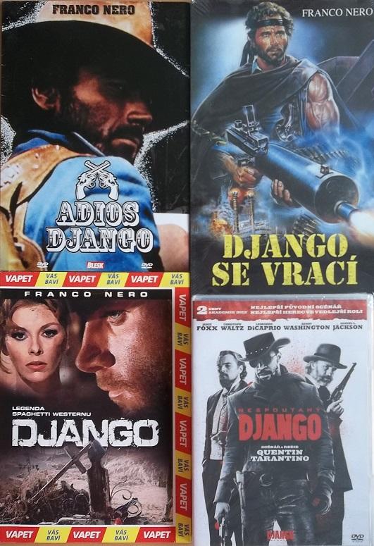 Kolekce Django 4DVD