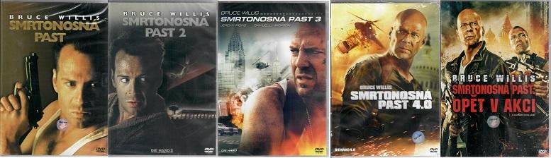 Kolekce Smrtonosná past 5x DVD